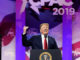 Trump tells CPAC crowd that Russian delusion collusion is bullshit
