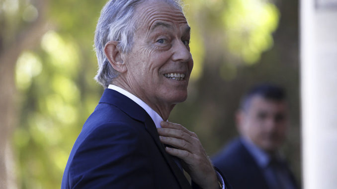 Tony Blair caught working with Macron to reverse Brexit