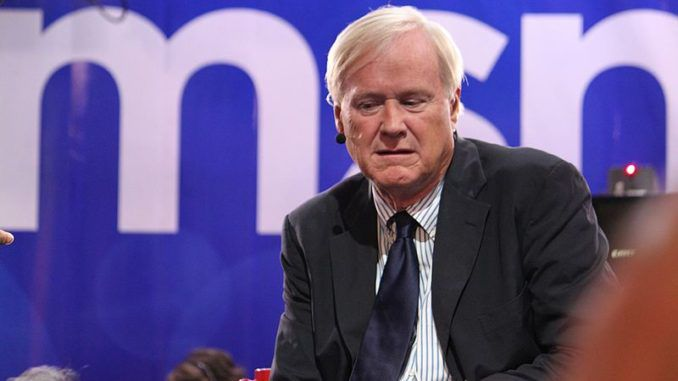 Chris Matthews says Trump should resign in disgrace like Nixon