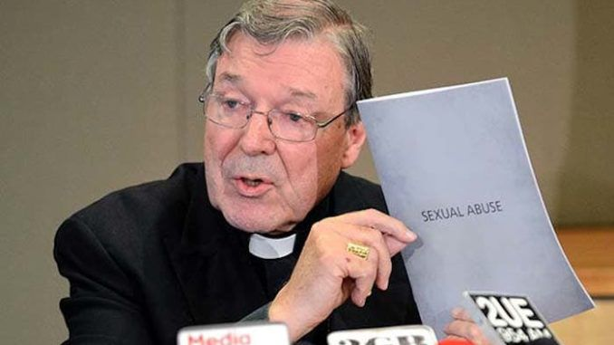 "Disgraced Cardinal George Pell, found guilty of raping two choirboys, has launched an appeal to overturn his conviction, while stating that the boys' testimonies against him, in which they detail his forceful sexual abuse, are simply sexual ""fantasy."""