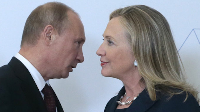 The only campaign that colluded with Russia was Hillary Clinton's