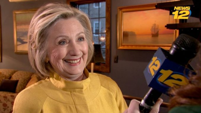Hillary Clinton says entire world must help her to oust Trump from office