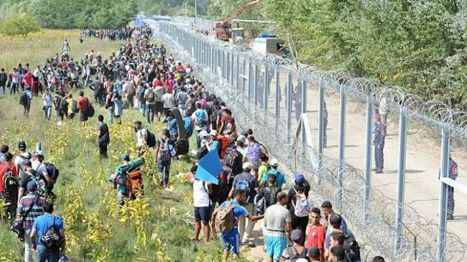 Illegal immigration in Hungary has fallen by more than 99% after the completion of a border wall reduced arrivals from 6,300 per day to 15.
