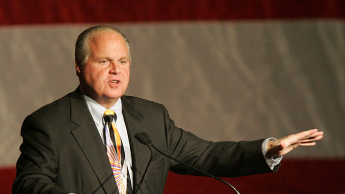 Rush Limbaugh claims New Zealand shooter was a leftists who staged attack to frame conservatives