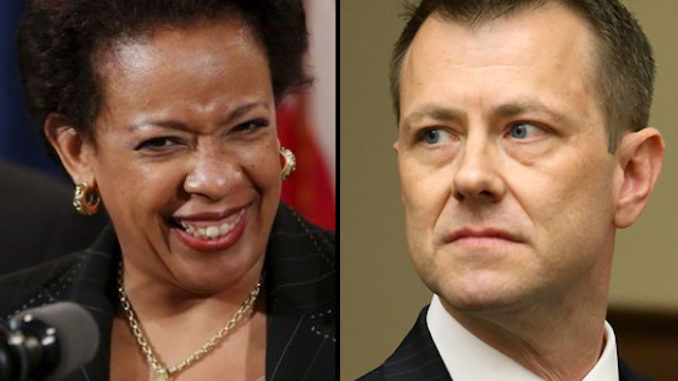 Peter Strzok reveals Loretta Lynch's DOJ put special filter on Clinton emails