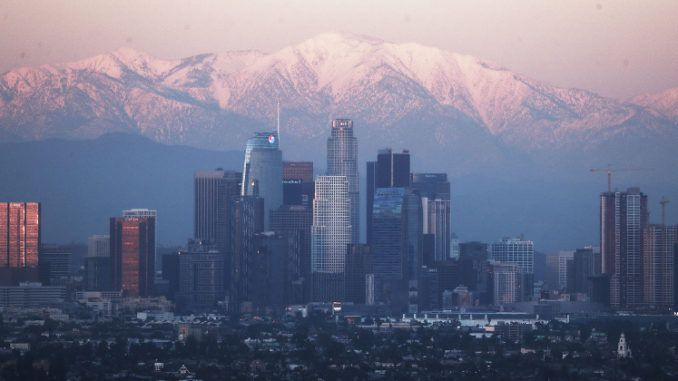 Los Angeles fails to hit 70 degrees for first time in 132 years