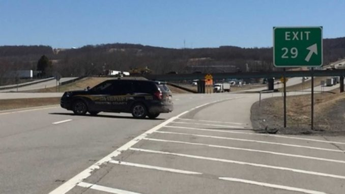 West Virginia State Police shut down Interstate 68 for several hours Wednesday after a gun-toting liberal man with a car full of explosives issued threats to kill President Donald Trump.