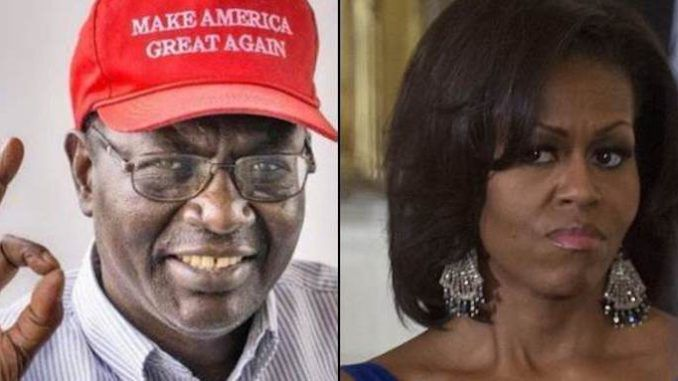 Obama's brother asks if Michelle is really Michael