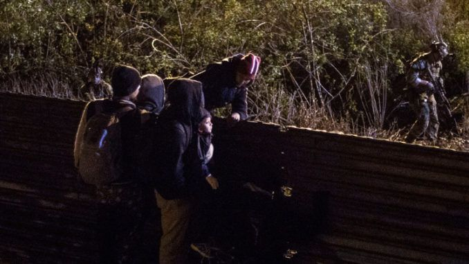 Human traffickers caught recycling children at southern U.S. border