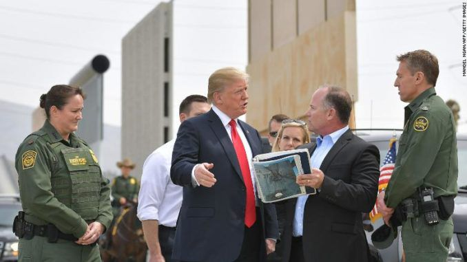 A patriotic U.S. company has stepped up to the plate and is offering to build 234 miles of President Trump's border wall for just $1.4 billion, a fraction of the $8 billion the Trump administration was expecting to spend on that project.