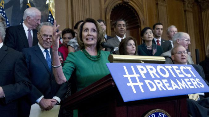 House Speaker Nancy Pelosi used a press conference in Austin, Texas to demand full voting rights for all immigrants to the United States.