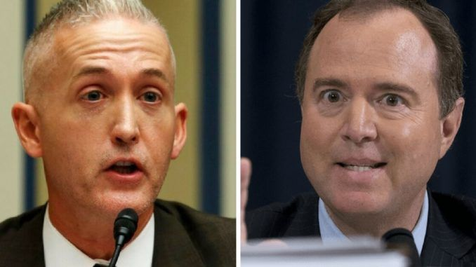 Trey Gowdy urges CIA to stop giving leaking Adam Schiff information