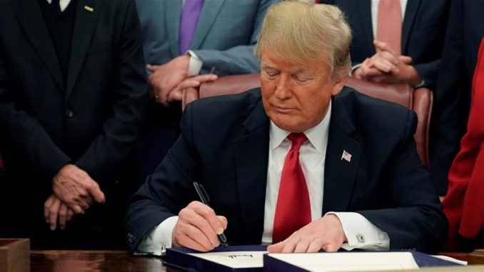 Trump to sign executive order allowing free speech in US universities and colleges