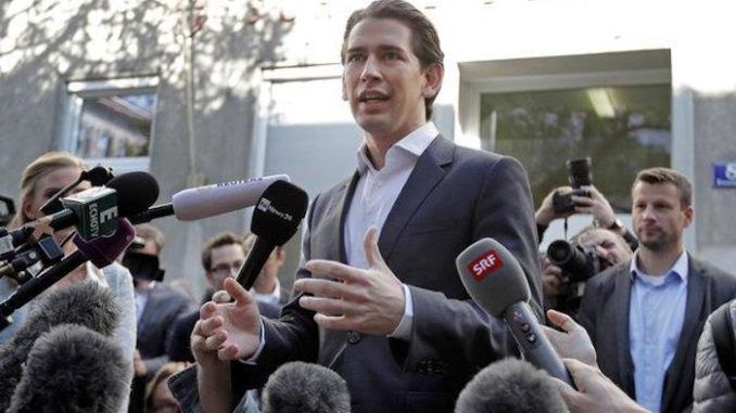 "Austrian Chancellor Sebastian Kurz has announced plans to turn the nation's migrant welcome centers into migrant ""departure centers."""