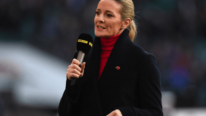 """BBC presenter Gabby Logan has said that it is """"unfair"""" to allow transgender women to compete against biological females in sports."""