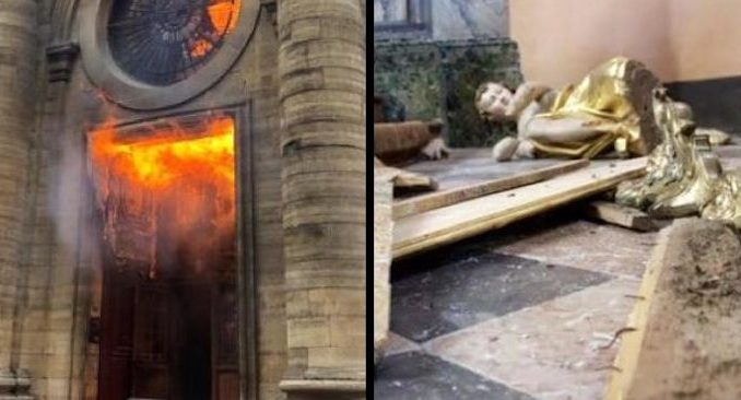 Since the beginning of 2019, France has born the brunt of a torrent of attacks which have included arson, vandalism, and the desecration of a number of the country's historic churches.