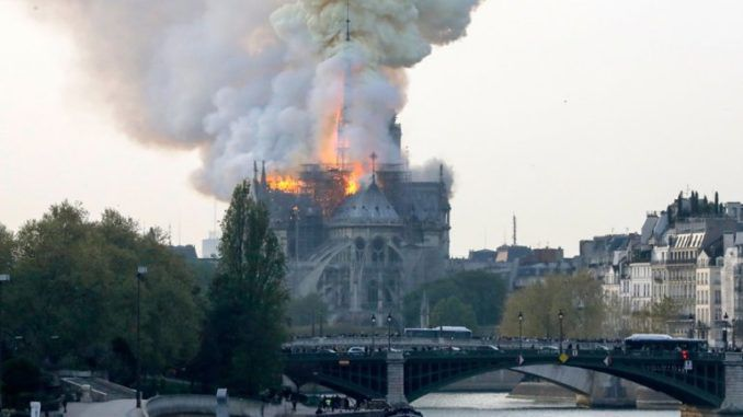 10 Catholic churches were attacked in one week shortly before Notre Dame fire