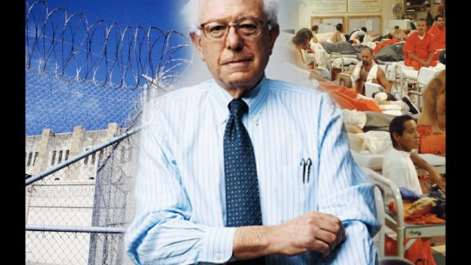 Bernie Sanders says felons should be able to vote from behind bars