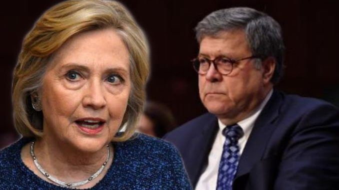 AG Bill Barr furious over mishandling of Hillary email probe