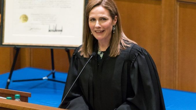 Democrats freak out as Trump announces he will replace Ruth Bader Ginsburg with Catholic judge Amy Barrett