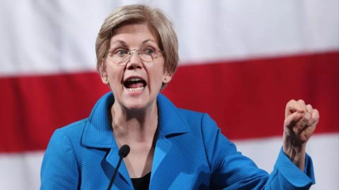Elizabeth Warren says Trump is a threat to national security