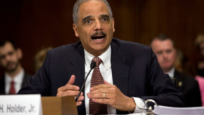 Eric Holder says America was never great