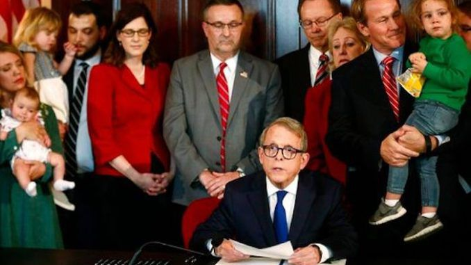 Ohio heartbeat abortion ban officially becomes law