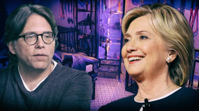 NXIVM sex cult prosecutors say they have evidence of illegal campaign contributions by Hillary Clinton