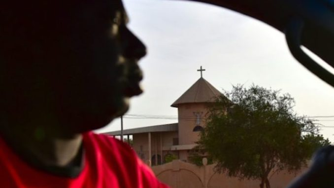A church in Burkina Faso was targeted by jihadist gunmen who killed a senior pastor and at least four worshippers on Sunday.