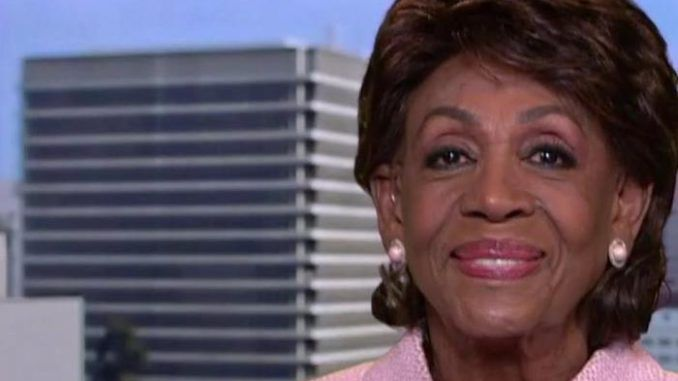 """California Democrat Rep. Maxine Waters referred to """"Facepage"""" and """"Tweeter"""" during an appearance on MSNBC on Sunday."""
