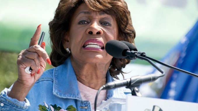 Maxine Waters suggests that Trump supporters are not patriots