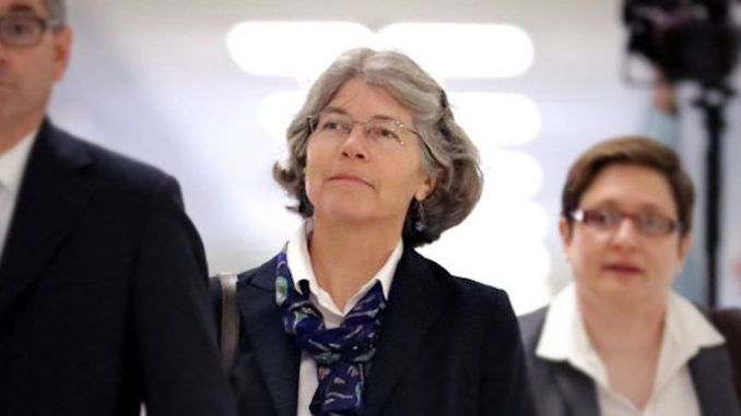 Nellie Ohr potentially lied to Congress