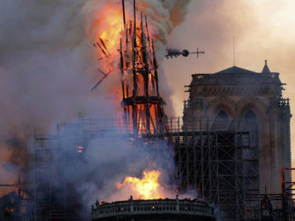 Former Notre Dame chief architect says ancient oak doesn't burn like that