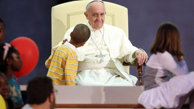 "Pope Francis has continued to advocate for mass immigration and open borders, telling an audience of children that ""migrants are those who always bring us riches."""