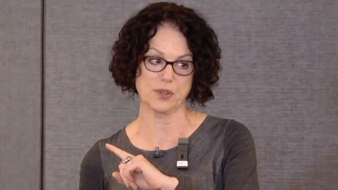 Liberal professor says white people who treat races equally are dangerous