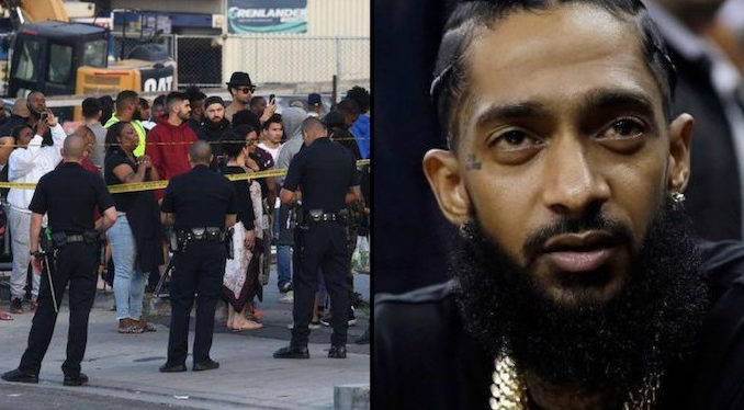Grammy nominated rapper Nipsey Hussle, who was producing a film about the life and death of Dr. Sebi, has been shot dead in Los Angeles.