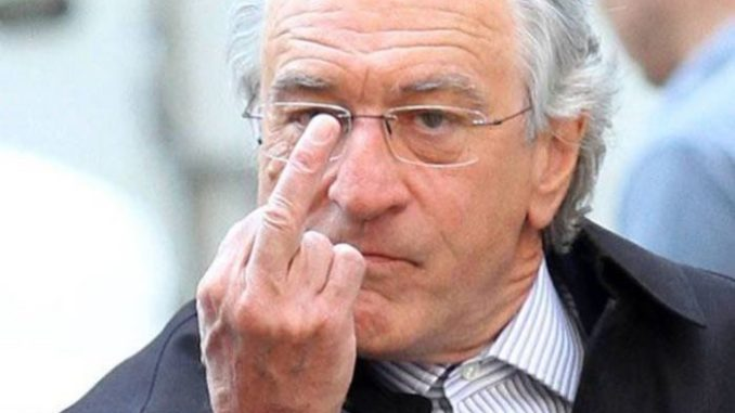 Robert De Niro says Trump is a wannabe gangster and total loser