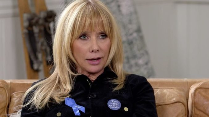 """President Trump's administration has """"normalized"""" pedophilia, rape and mass killings, according to Pulp Fiction actor Rosanna Arquette."""