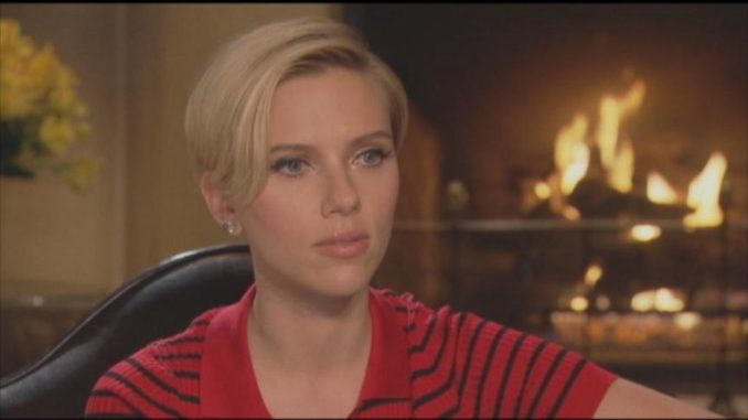 "The Democratic Party is broken ""in a lot of ways"" and Joe Biden is not the candidate to unite the party, according to Scarlett Johansson."