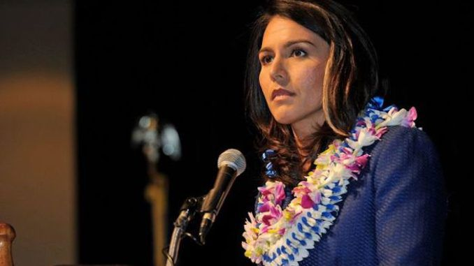 Rep. Tulsi Gabbard warns Assange arrest is a warning to all Americans to toe the line