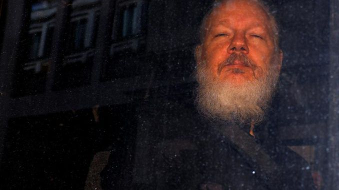 WikiLeaks editor Julian Assange has been admitted to hospital in a serious condition, according to his lawyer who says Assange's health has deteriorated rapidly and he is barely able to communicate.