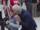 Despite promising to stop touching young girls inappropriately, former Vice President Joe Biden was yet again caught cozying up to a 10-year-old, whispering comments in her ear, and even asking for her address.
