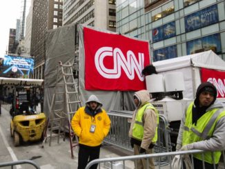 """CNN laid off almost an entire division on Tuesday, in a move the struggling network """"debunked"""" as nothing more than a """"crazy rumor"""" just a few weeks ago."""