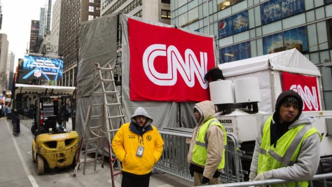 "CNN laid off almost an entire division on Tuesday, in a move the struggling network ""debunked"" as nothing more than a ""crazy rumor"" just a few weeks ago."