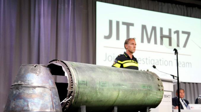 Malaysian PM says there is no evidence Russia shot down MH17