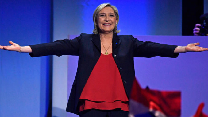 Marine Le Pen overtakes Macron in upcoming EU elections
