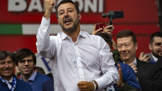 Italian Interior Minister Matteo Salvini says the real extremists are those who have ruled Europe over the last 20 years