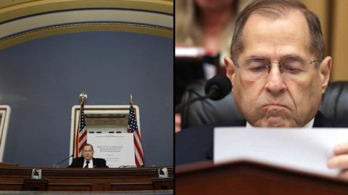 Democrats grieve over Russian-collusion death by reading out Mueller report to empty room