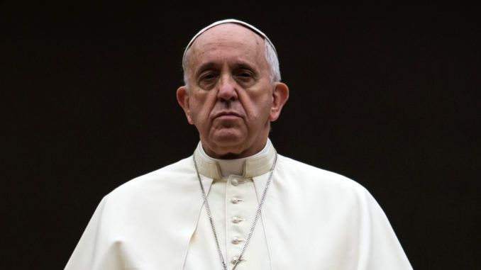 Pope Francis has urged the creation of a global governing legal authority to ensure nation states are forced to obey the UN' diktats.