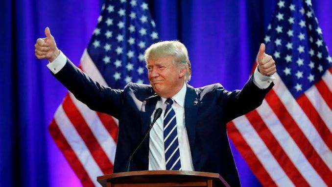 President Trump's approval rating highest in two years